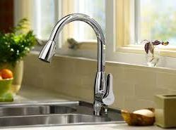 rubinetto cucina in acciaio inox