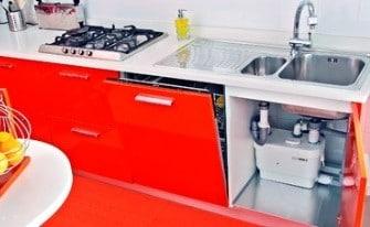 Impianto sanitrit per cucine