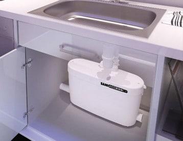 tritarifiuti sanitri lavello cucina