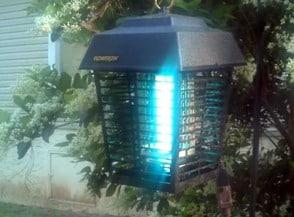 zanzariera elettrica da esterno