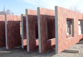 muri prefabbricati in muratura