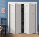 Porte a soffietto in legno, vantaggi e prezzi