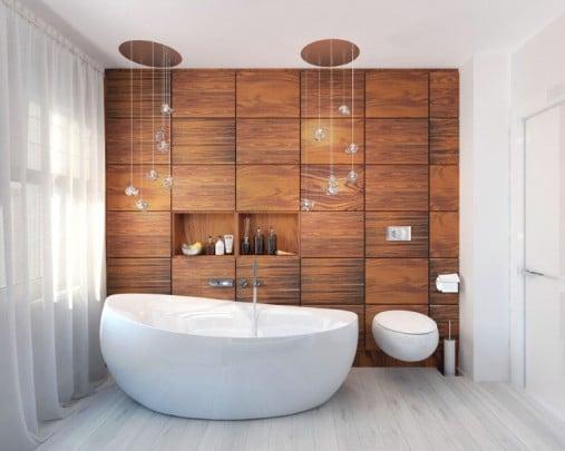 Bagno senza piastrelle prezzi e consigli blog edilnet for Mattonelle per salone