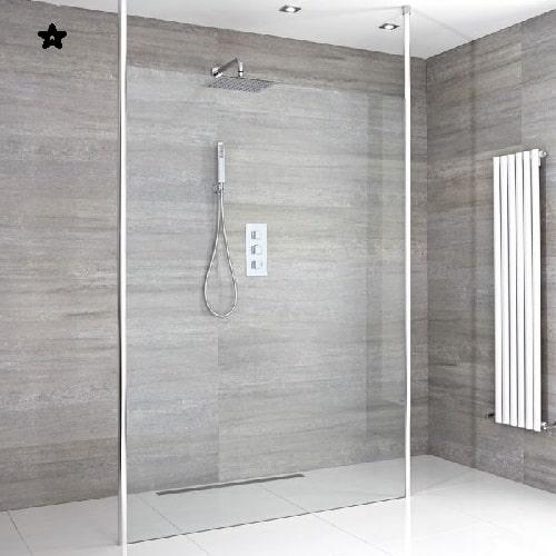 Spettacolare box doccia aperto