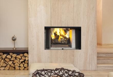 caminetto a legna