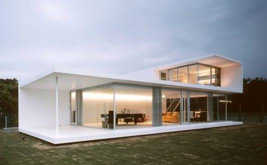 casa prefabbricata in muratura di design