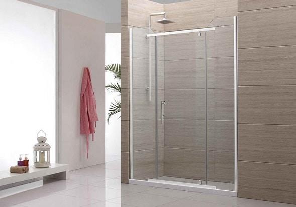 Spettacolare doccia in muratura realizzata