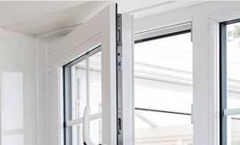 finestra in pvc bianca