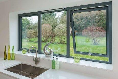 finestre vasistas in alluminio