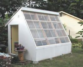 serra solare indipendente