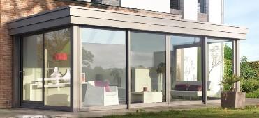 veranda in alluminio ante scorrevoli
