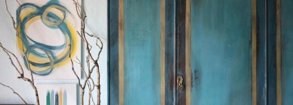 come dipingere un armadio a muro