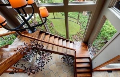 Quale legno per delle scale interne: scala realizzata