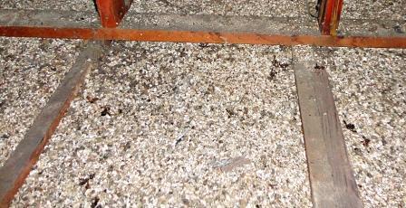 vermiculite per l'isolamento del tetto