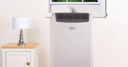 Un climatizzatore portatile.