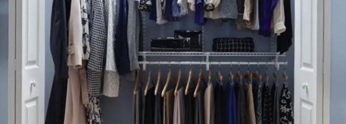 Una guida su come rivestire una cabina armadio
