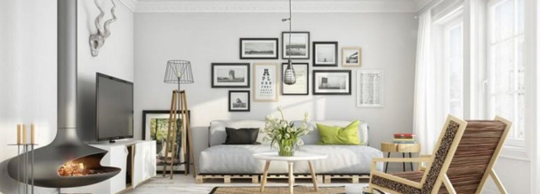 Alcune idee per ristrutturare e arredare casa in stile scandinavo.