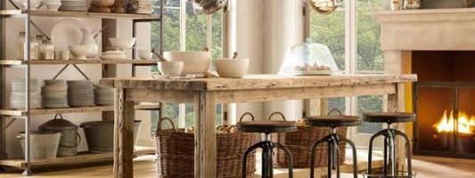 Idee per arredare e ristrutturare casa in stile provenzale.