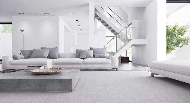 Una casa in stile minimal.