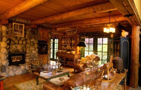 Una casa in stile country.