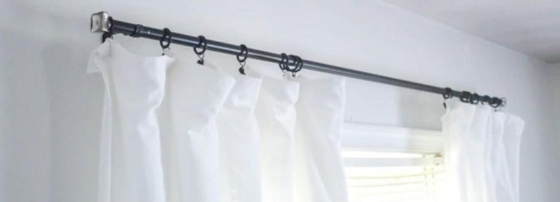Una guida su come costruire dei bastoni per tende.