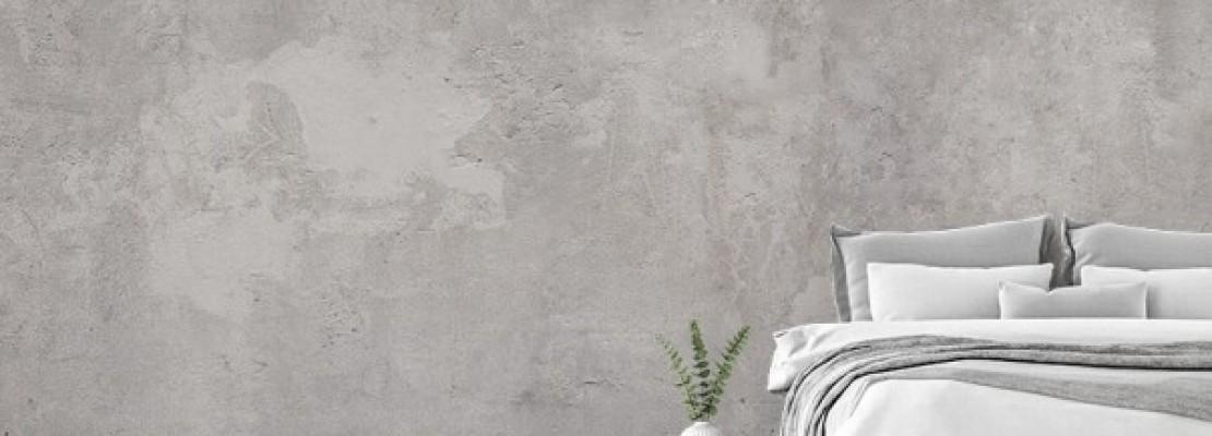 Idee e consigli per realizzare una parete effetto cemento.