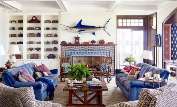 Un esempio di casa in stile marino.