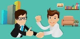 Incontro per gestire rapporto con cliente