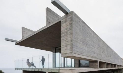 Una struttura in cemento armato