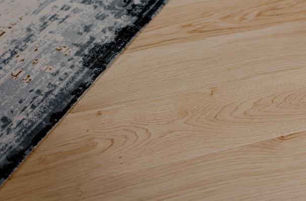 Un esempio di pavimento in laminato.