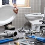 sostituzione dei sanitari nella ristrutturazione bagno