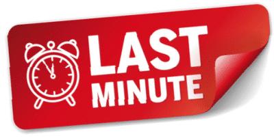 Offerta limitata - Last Minute