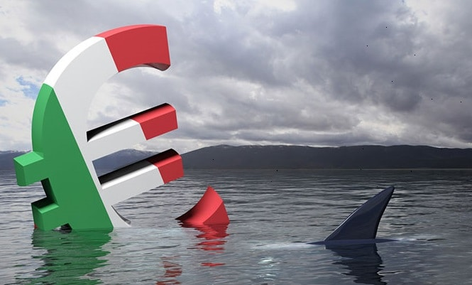 Crisi Italia Edilizia con Euro che affonda