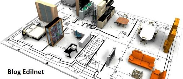 Casa in fase di arredamento durante il progetto