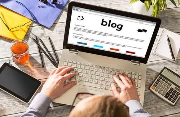 Pubblicare posts su di un blog è un buon modo per promuovere un open house.