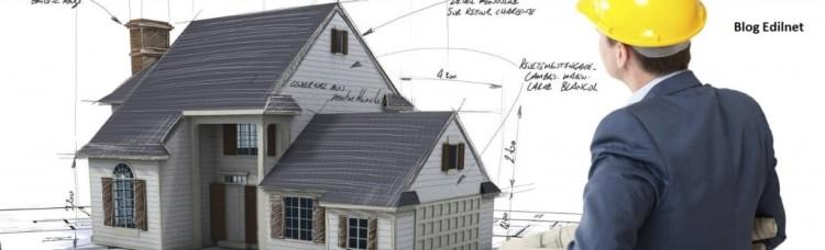 Una casa in progetto per una ristrutturazione degli esterni