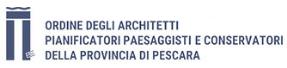 Logo Ordine degli Architetti Pianificatori Paesaggisti e Conservatori della Provincia di Pescara