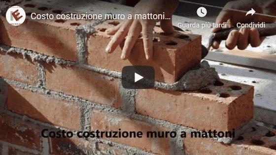 Video di Blog Edilnet di Parete di mattoni come si costruisce e quali sono i costi
