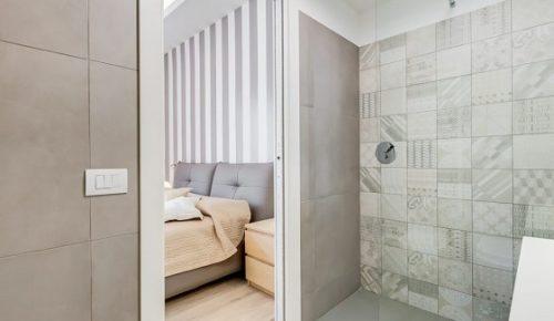 Immagine di doccia in muratura esempio 2