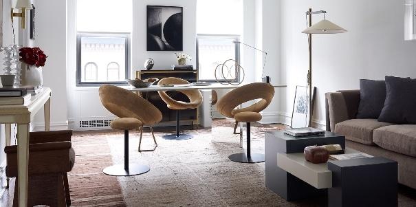 la progettazione di un ufficio da parte di un interior designer.