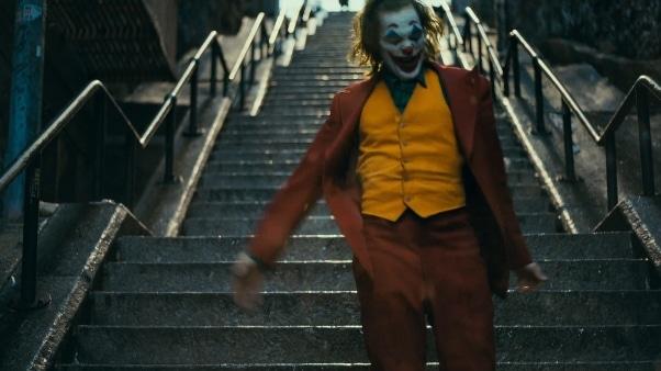 """La scalinata che appare nel fim """"Joker""""."""