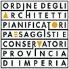 Logo Ordine Architetti P P C della Provincia di Imperia