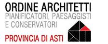 Logo Ordine Architetti, Pianificatori, Paesaggisti e Conservatori della Provincia di Asti