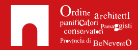 Logo Ordine Architetti della Provincia di Benevento