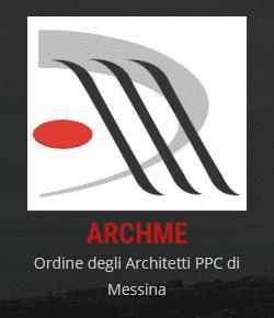 Logo Ordine degli Architetti PPC di Messina