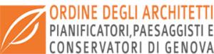 Logo Ordine degli Architetti Pianificatori Paesaggisti Conservatori della provincia di Genova