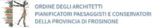 Logo Ordine degli Architetti, Pianificatori, Paesaggisti e Conservatori della Provincia di Frosinone