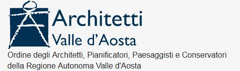Logo Ordine degli Architetti, Pianificatori, Paesaggisti e Conservatori della Regione Autonoma Vall[...]