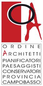 Logo Ordine degli Architetti, pianificatori e paesaggisti della provincia di Campobasso