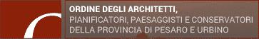 Logo Ordine degli Architetti Pesaro e Urbino